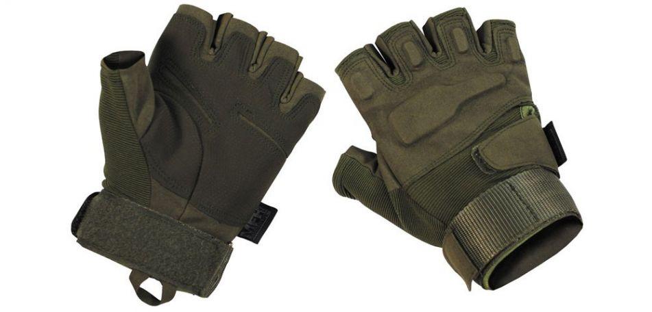 Tactical Halbfinger Gloves