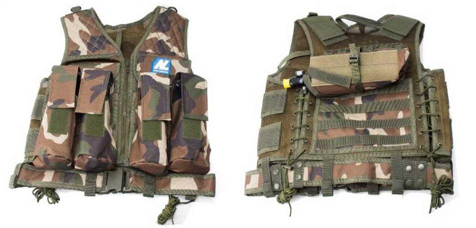 Tacticalweste Carrier woodland