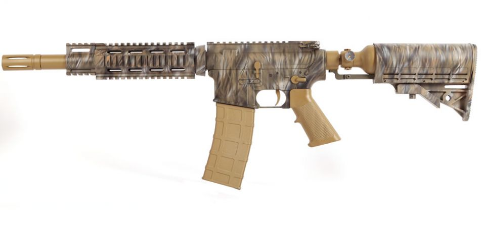 Tiberius T15 Special Edition The Ghost and Darkness Camo