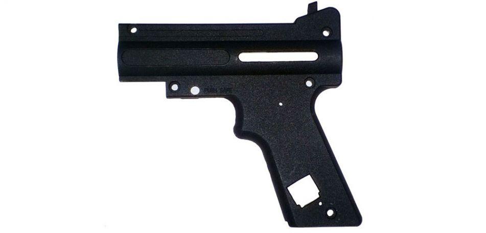 Tippmann 98 PS Black Nickel AC Receiver Left - TA02074