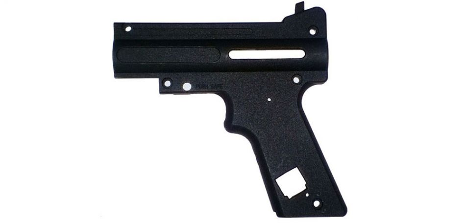 Tippmann 98 PS Black Nickel AC Receiver Left - TA02074