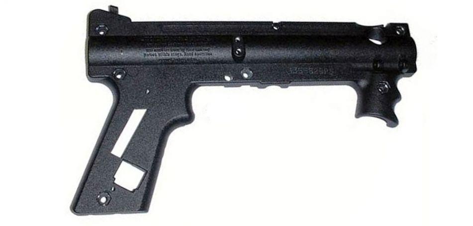 Tippmann 98 PS Black Nickel AC Receiver Right - TA02075