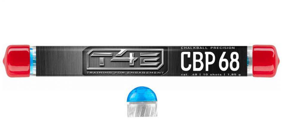Umarex T4E CBP 68 Chalkballs / Kreidebälle Precision cal. 68 - 10 Stück