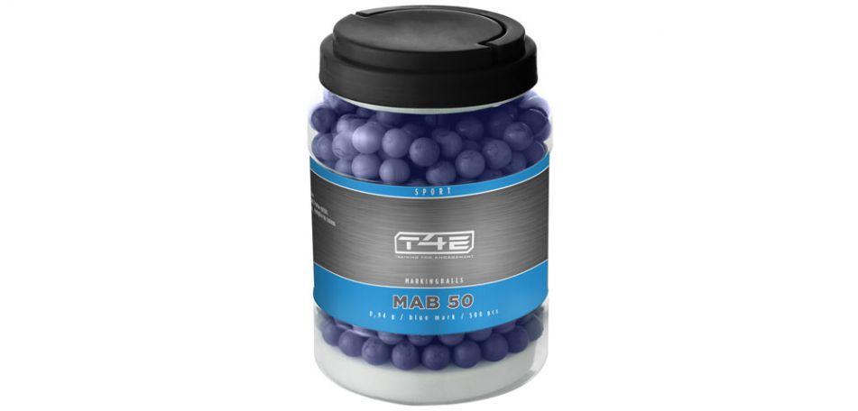 Umarex T4E Sport MAB / Markingballs Blue cal. 50 - 500 Stück