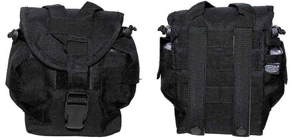 Universal Molle Tasche 21cm x 15cm x 10cm - schwarz