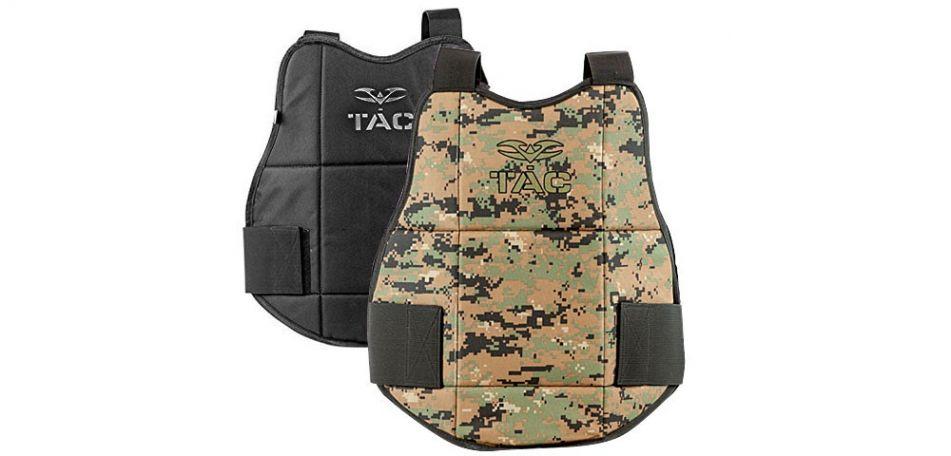 Valken V-Tac Chest Protector / Brustpanzer - marpat/black wendbar