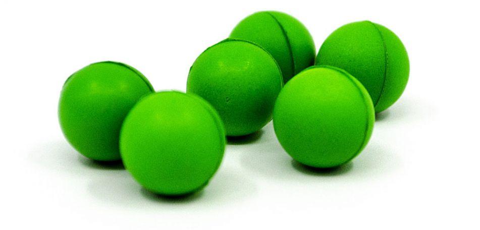 Valken Gotcha Schaumstoffbälle cal. 50 - 100 Stück - neon green