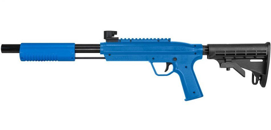 Valken Kids Markierer Tactical Gotcha Gun / Shotgun cal. 50 (0.5 J) blau