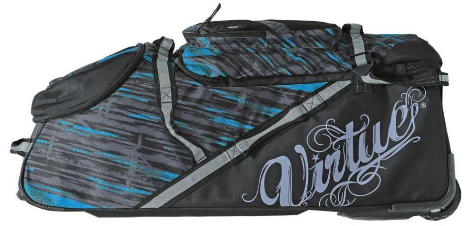Virtue High Roller Gear Bag / Reisetasche cyan schwarz