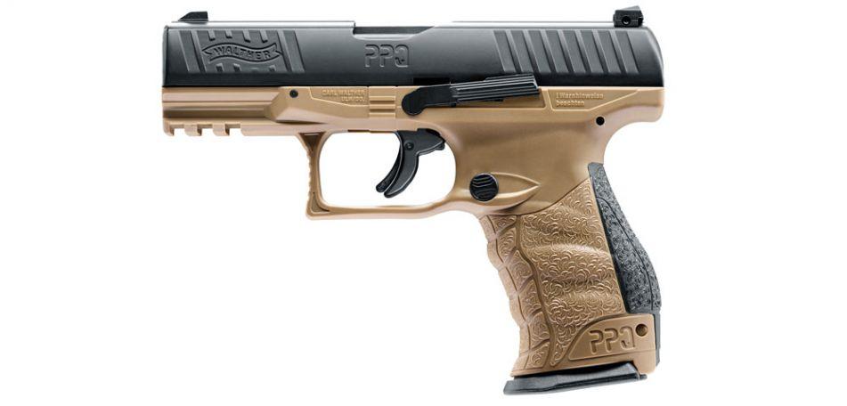 Walther PPQ M2 T4E RAM Pistole - FDE