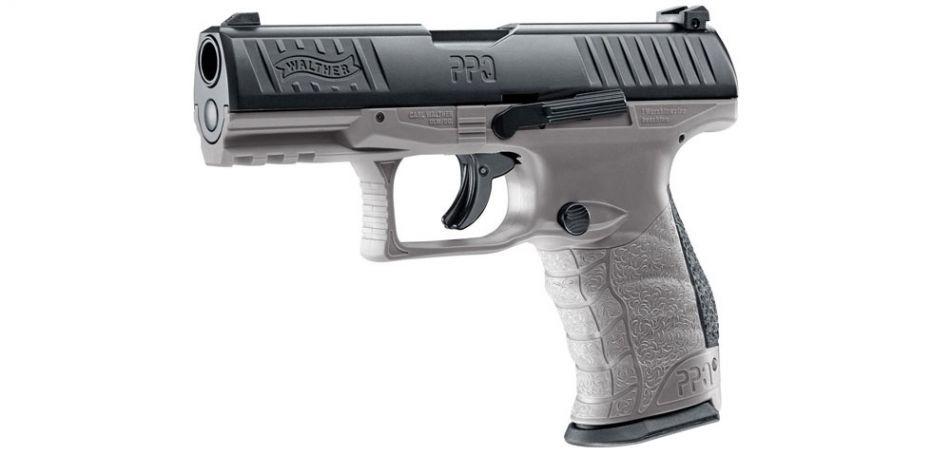 Walther PPQ M2 T4E RAM Pistole - Tungsten Gray