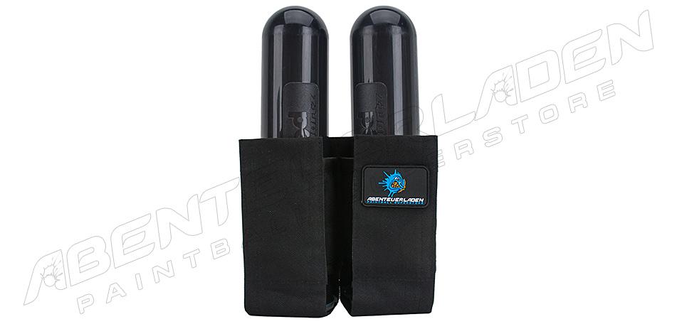 2er Pack für Gürtel schwarz
