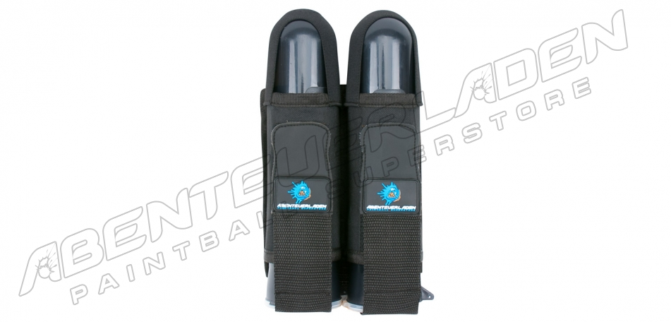 2er Battlepack mit Gürtel schwarz