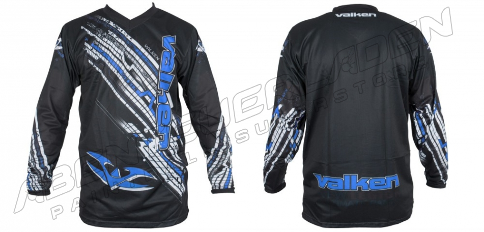 Valken Fate Paintball Jersey blau XXL