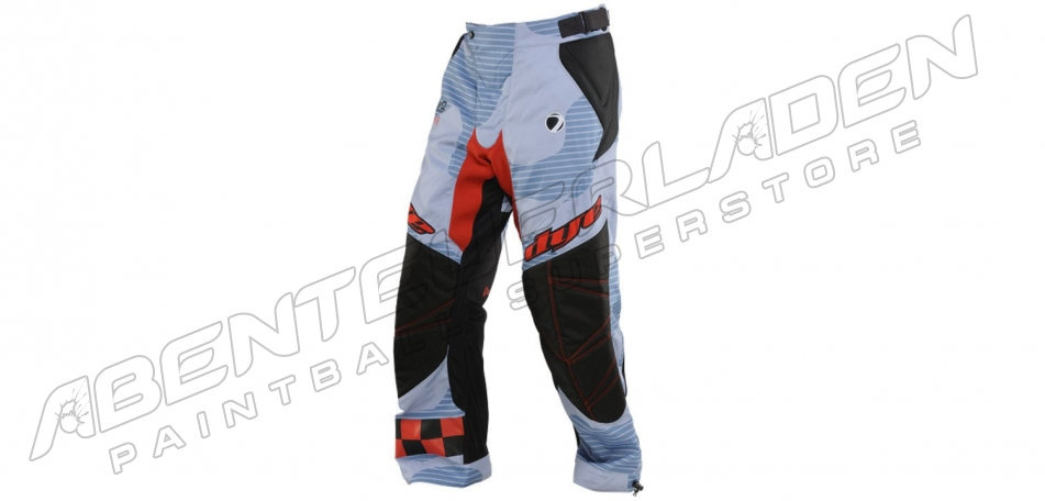 Dye Pants C14 Bomber blue red XS/S