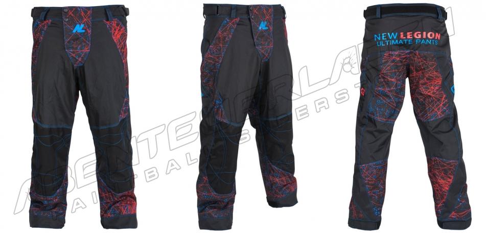New Legion Ultimate Pro Pants dash red/blue M/L