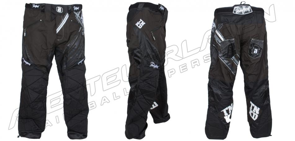 TNKD Paintball Pants schwarz grau XXL