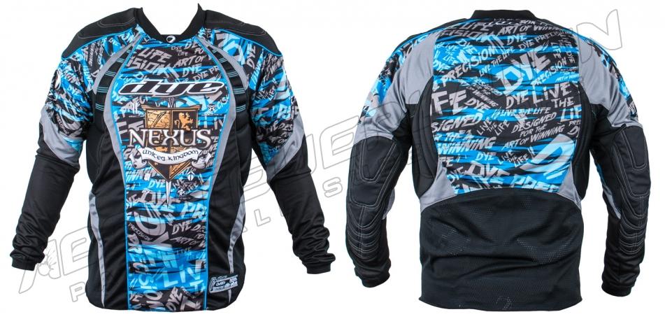 Dye Custom Team Jersey Nexus C12 tiger stripe blue S/M