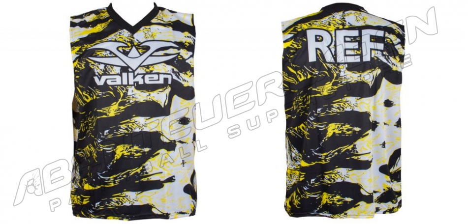 Valken Referee Jersey tiger stripe XXXL