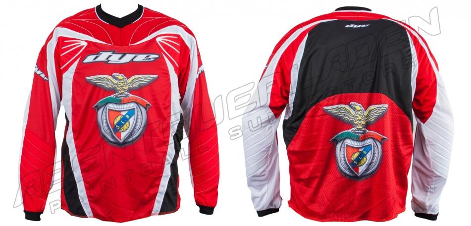 Dye Custom Team Jersey Lisbon Benfica C10 XXL