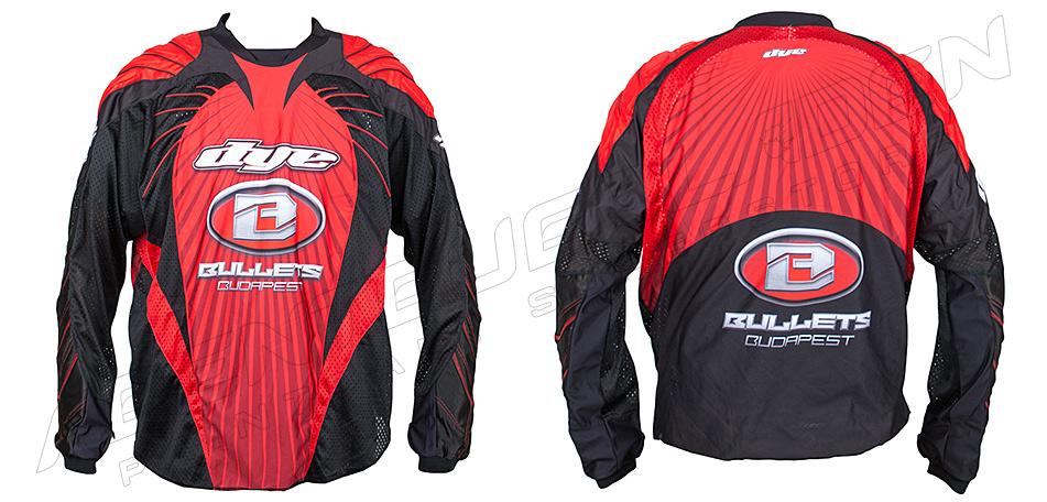 Dye Custom Team Jersey Bullets 09 XXL