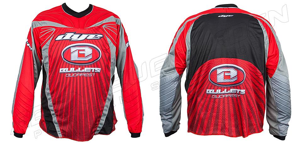 Dye Custom Team Jersey Bullets 10 XXL