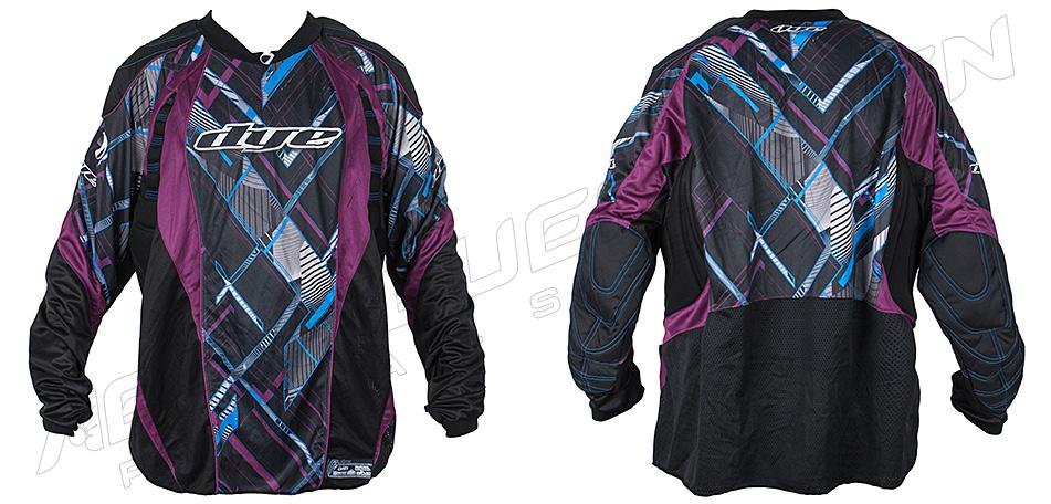 Dye Jersey C12 Chevron purple XXL/XXXL