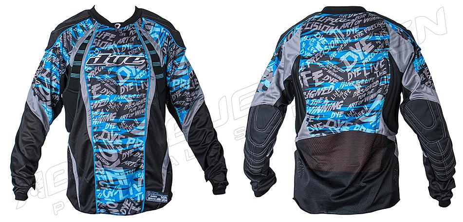 Dye Jersey C12 Tiger Stripe blue XXL/XXXL