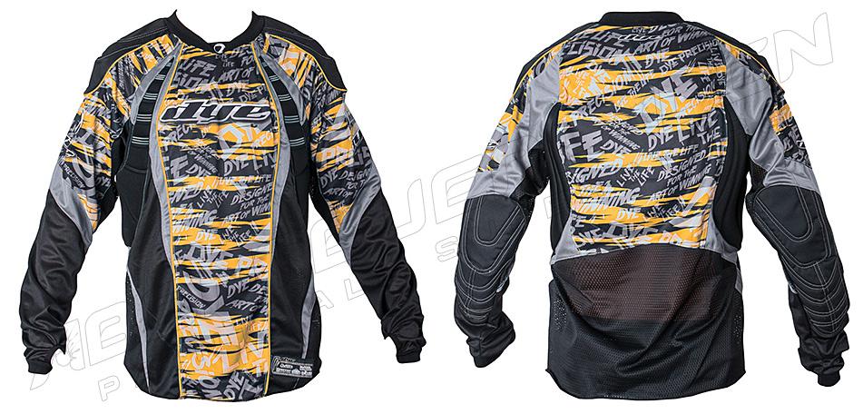 Dye Jersey C12 Tiger Stripe orange XXL/XXXL