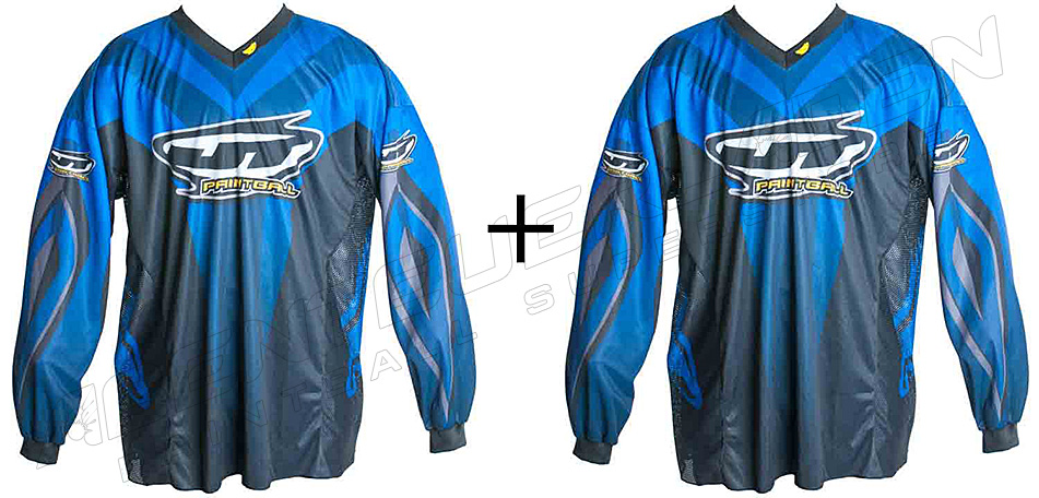 2er Set: JT Team Jersey blau