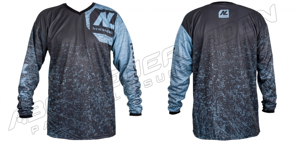 New Legion ultimate Pro Paintball Jersey - dash grey M/L
