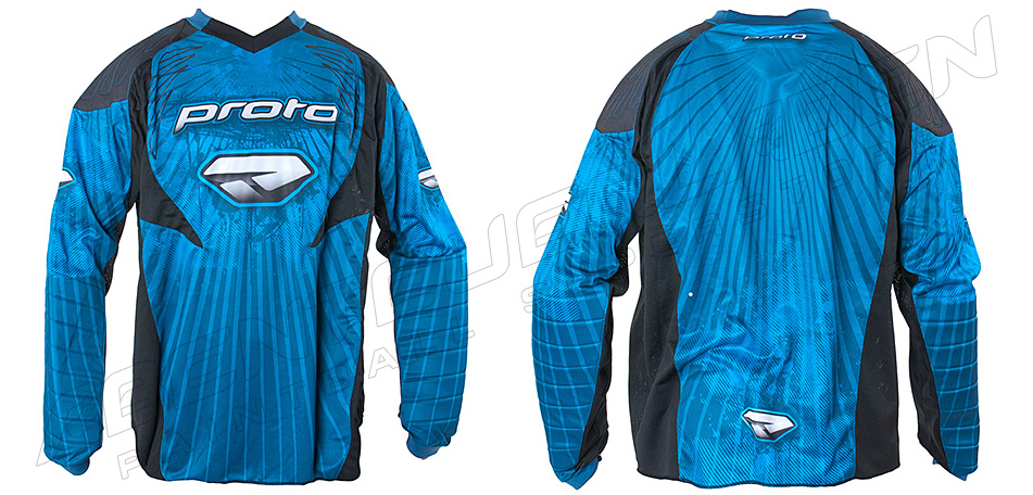 Proto Jersey 10 burst blue XXL