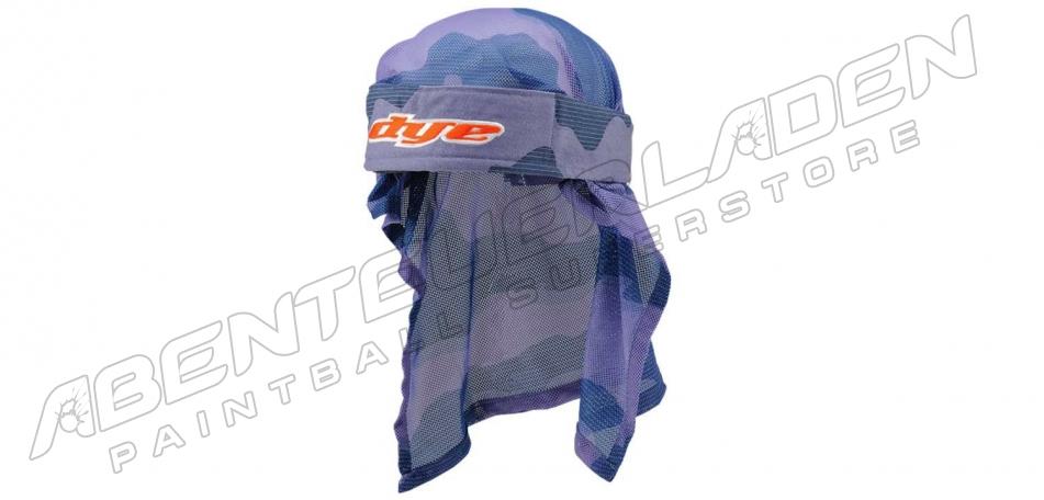 Dye Wrap Bandana mit Netz bomber red blue