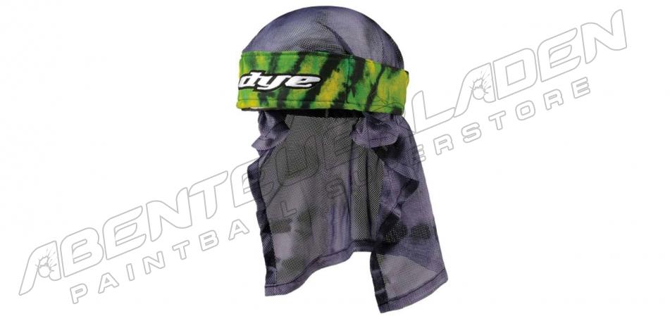 Dye Wrap Bandana mit Netz Tie Dye