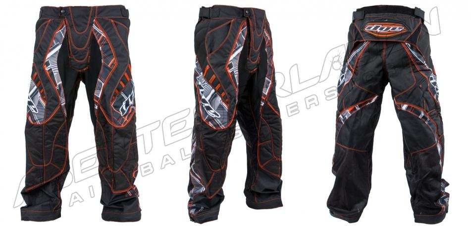 Dye Pants C12 Chevron red XL/XXL
