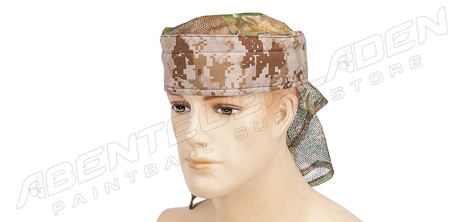 Sandana Headwrap mit Netz digi desert