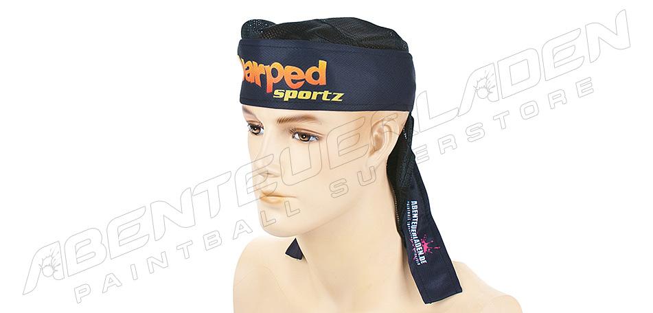 Warped Sportz Bandana Frontlogo mit Netz