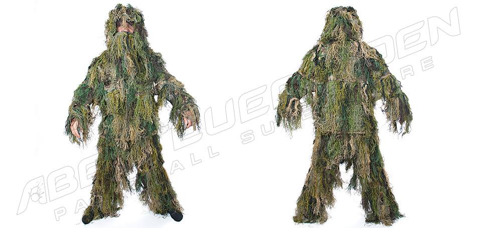 Ghillie Suit Faden 3-teilig XXL