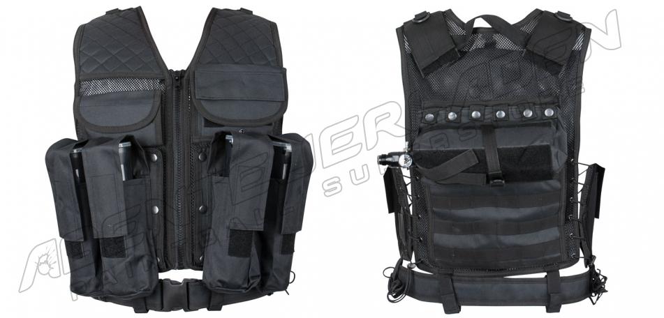 Tacticalweste Carrier schwarz