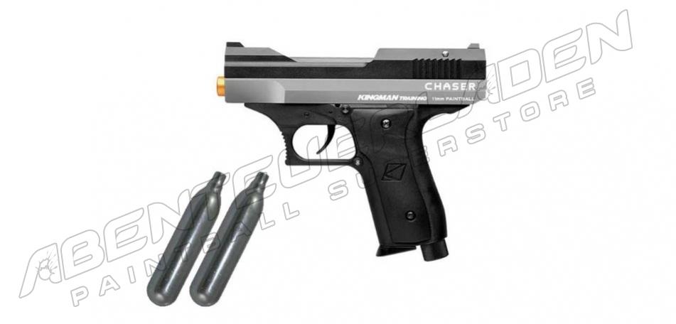 KT Chaser RAM Pistole - silber