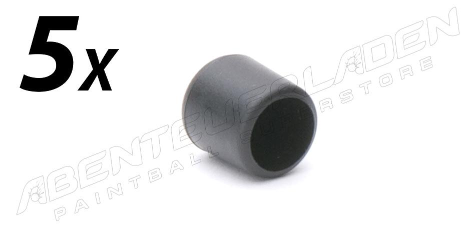 5er Set Füllnippelschutzkappe schwarz