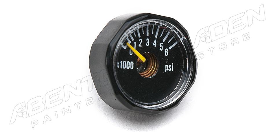 Manometer 6000 psi Mini schwarz
