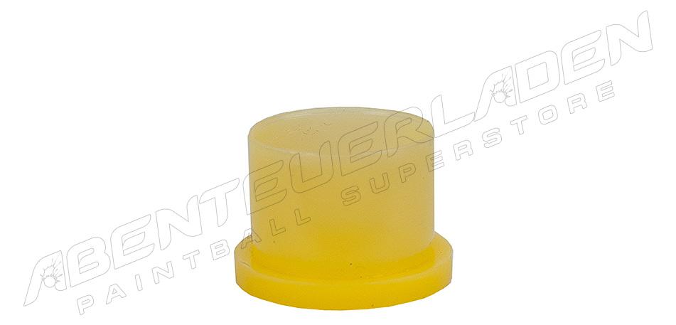 Ventilschutzkappe steckbar gelb