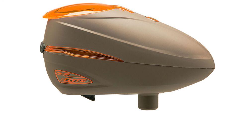 Dye Rotor R2 - Lava / Brown Orange