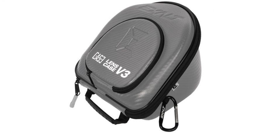 Exalt Lens Case V3 - Ersatzglas Tasche - charcoal grey