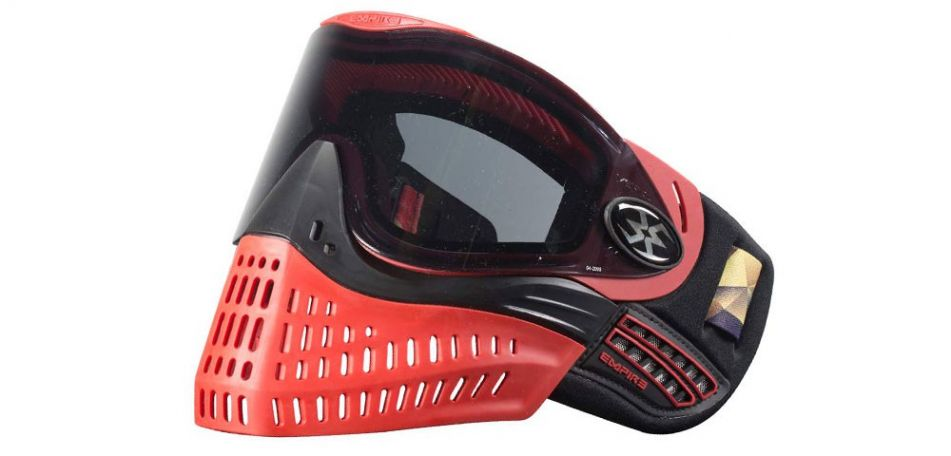 Empire E-Flex Thermalmaske LE rot schwarz
