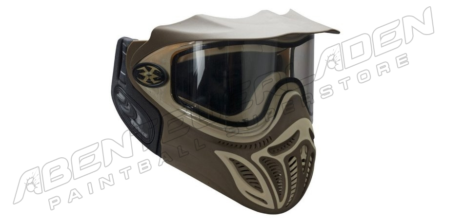 Empire EVents Paintball Maske braun / tan (Limited Edition)