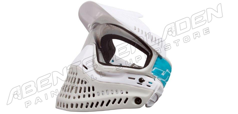 JT Spectra ProFlex Thermalmaske LE white/grey + extra Smoke Glas