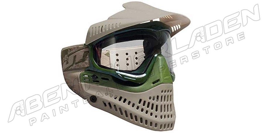 JT Spectra ProFlex Thermalmaske LE tan/olive + extra Smoke Glas