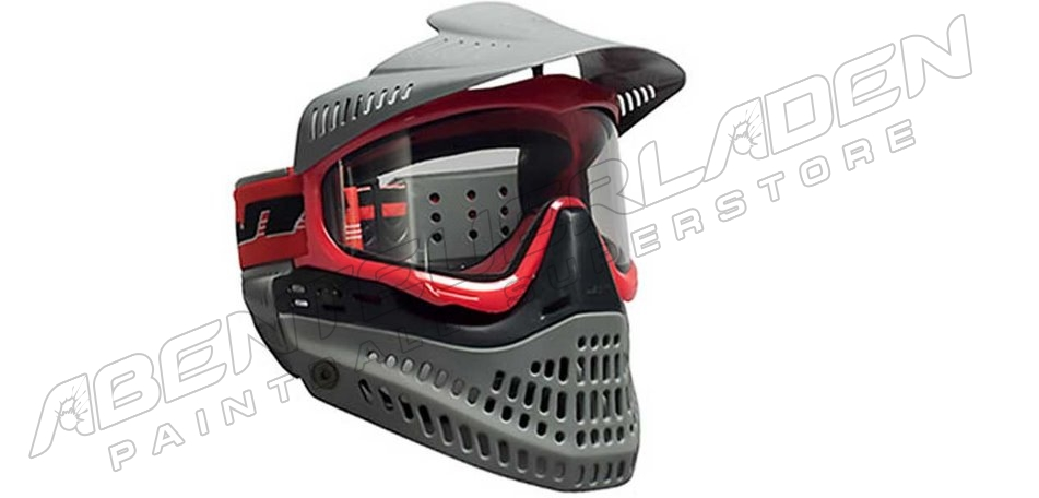 JT Spectra ProFlex Thermalmaske LE red/black/grey + extra Smoke Glas